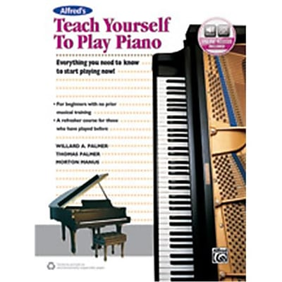Alfred Teach Yourself to Play Piano (LFR3791)