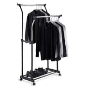 Organize It All Double Adjustable Garment Rack (OIA003)