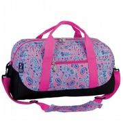 Wildkin Watercolor Ponies Pink Duffel Bag (WILD940)