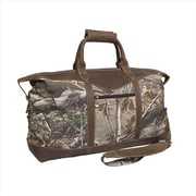 Canyon Outback Leather 22 in. Realtree Water Resistant Duffel Bag, Camouflage (ECWE235)
