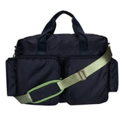 Trend Lab DIAPER BAG - BLACK AND AVOCADO GREEN DELUXE DUFFLE (TREND2619)