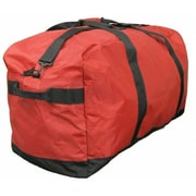 McBrine Luggage 34 Inch Nylon Extra Large Duffle Bag in Red (MCBR123)