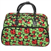 All-Seasons 21 in. Carry-On Shoulder Tote Duffel Bag - Ladybug (ECWE057)