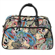 All-Seasons 21 in. Carry-On Shoulder Tote Duffel Bag - Paisley (ECWE056)