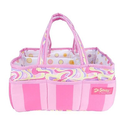 Trend Lab STORAGE CADDY - DR. SEUSS PINK OH THE PLACES YOULL GO (TREND2608)