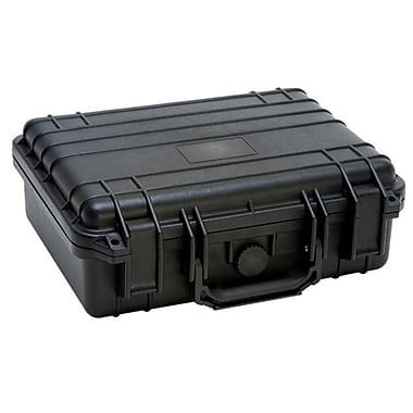 TZ Case Cape Buffalo Water Resistant Utility Case, Black - 4.75 x 11 x 13 in. (TZCS073)