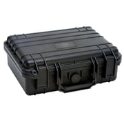 TZ Case Cape Buffalo Water Resistant Utility Case, Black - 4.75 x 11 x 13 in. (TZCS073)