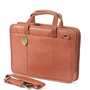 Claire Chase Small File Briefcase - Saddle (CLRCS039)