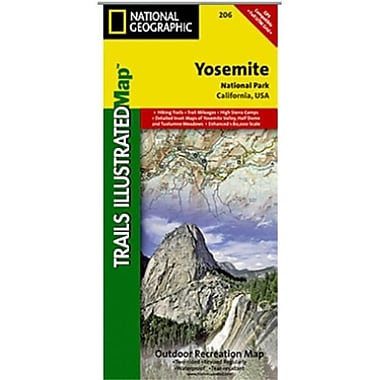 National Geographic Map Of Yosemite National Park - California (NGS348)