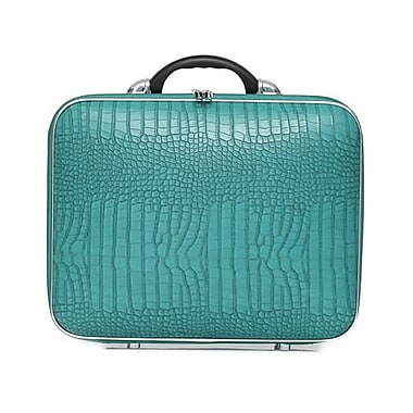 Bombata 17 in. Cocco Bold Overnight Bag - Turquoise (BMBT027)