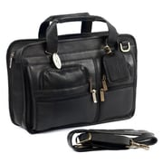 Claire Chase Slimline Executive Briefcase - Black (CLRCS008)