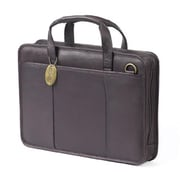 Claire Chase Small File Briefcase - Cafe (CLRCS040)