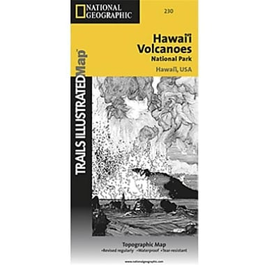 National Geographic Map Of Hawaii Volcanoes National Park - Hawaii (NGS366)