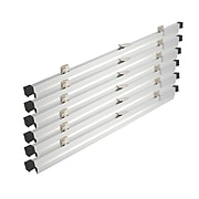"Brookside Design 36"" Heavy Duty Hanging Print Clamps, Aluminum, 6/Set (PC636)"