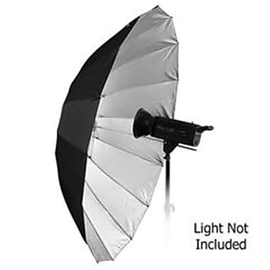 Fotodiox 60 in. Pro 16-Rib, Black & Silver Reflective Parabolic Umbrella kit (FTDX616)