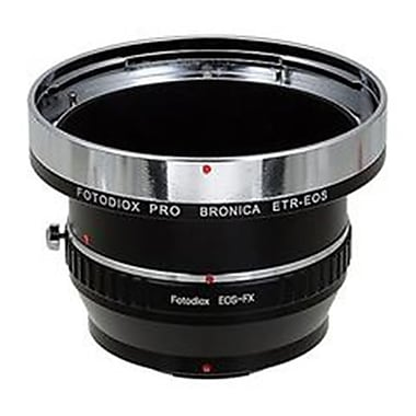 Fotodiox Pro Lens Mount Adapter - Bronica ETR Mount SLR Lenses To Fujifilm X-Series Mirrorless Camera Body (FTDX1344)