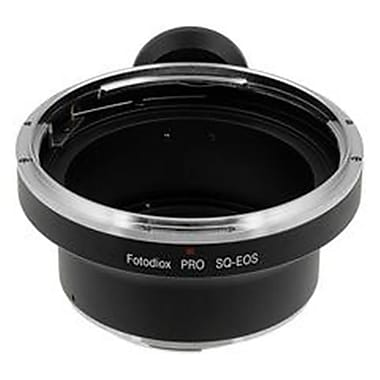 Fotodiox Pro Lens Mount Adapter - Bronica SQ Mount Lens To Canon EOS Mount SLR Camera Body (FTDX1185)