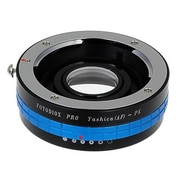 Fotodiox Pro Lens Mount Adapter - Yashica Pentax K Mount SLR Camera Body with Built in Aperture Control Dial (FTDX998)