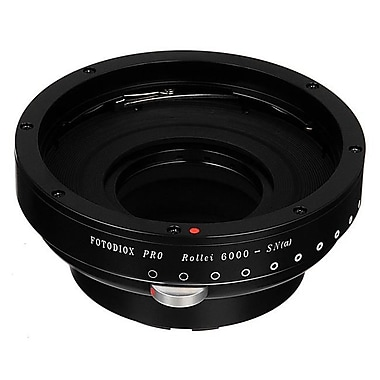 Fotodiox Pro Lens Mount Adapter - Rollei Lenses To Sony Alpha A-Mount SLR Camera Body with Built in Aperture Iris (FTDX972)