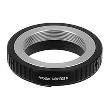 Fotodiox Lens Mount Adapter - M39-L39 Screw Mount SLR Lens To Canon EOS M Mirrorless Camera Body (FTDX1482)