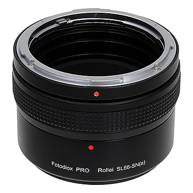 Fotodiox Pro Lens Mount Adapter - Rolleiflex Sony Alpha A-Mount SLR Camera Body with Built in Focusing Helicoid (FTDX969)