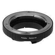 Fotodiox Lens Mount Adapter - Konica Auto-Reflex SLR Lens To Leica M Mount Rangefinder Camera Body (FTDX1097)