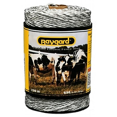 Parker Mccrory 656 White Portable Electric Fence Wire (JNSN35305)