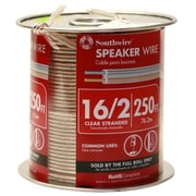 Southwire Company 250ft. 16-2 Clear Speaker Wire - Pack of 250 (JNSN44321)