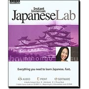 TOPICS Entertainment Instant Immersion Language Japanese Lab (XS42568)