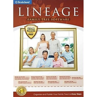Encore Software 190535 Lineage Family Tree Software (XS190535)