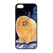 Carolines Treasures Starry Night Pomeranian Cell Phone Cover Iphone 5 (CRLT13675)