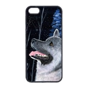 Carolines Treasures Starry Night Norwegian Elkhound Cell Phone Cover Iphone 5 (CRLT13681)