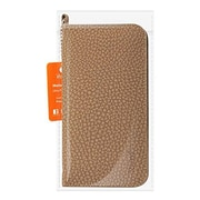 Reiko 5.59 x 2.79 x 0.42 in. Universal Wallet Phone Case with Side Pockets & Magnetic Flap for Iphone 6 & 6S, Brown (RKWL12772)