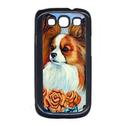 Carolines Treasures Papillon In The Roses Cell Phone Cover Galaxy S111 (CRLT13945)