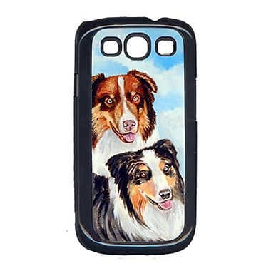 Carolines Treasures Australian Shepherd Double Trouble Cell Phone Cover Galaxy S111 (CRLT15437)
