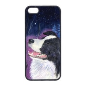Carolines Treasures Starry Night Border Collie Cell Phone Cover Iphone 5 (CRLT13576)