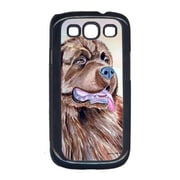 Carolines Treasures Chocolate Brown Newfie Newfoundland Cell Phone Cover Galaxy S111 (CRLT13873)