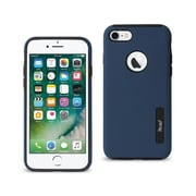 Reiko Apple iphone 7 Solid Armor Dual Layer Protective Case, Navy (RKWL12447)