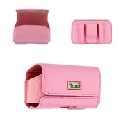Reiko Horizontal Pouch, Pink - 3.35 x 1.75 x 0.91 in. (RKWL12278)