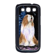 Carolines Treasures Starry Night Bearded Collie Cell Phone Cover Galaxy S111 (CRLT15617)