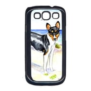 Carolines Treasures Tricolor Basenji at the beach Cell Phone Cover Galaxy S111 (CRLT15556)