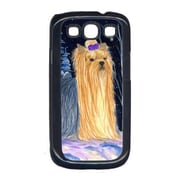 Carolines Treasures Starry Night Yorkie Galaxy S111 Cell Phone Cover (CRLT14788)