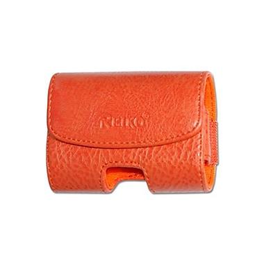 Reiko Medium Horizontal Pouch, Orange - 3.5 x 1.1 x 2 in. (RKWL12199)
