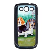 Carolines Treasures Basset Hound Double Trouble Cell Phone Cover Galaxy S111 (CRLT15586)