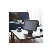 YAMAZAKI home 3.4 x 2.8 in. Square Tablet Stand - Black (YMZK273)