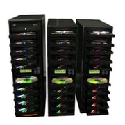 Produplicator DVD CD Duplicator - Copier 1 to 30 20X burners with 320GB Removable HDD (PRDU210)