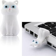 Bone 8GB Cat Drive - White (LEIT003)