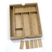 Lipper Bamboo Organizer Expandable Adjustable With 6 (OCI9620)
