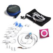 Underwater Audio Pink Waterproof iPod Swimbuds Sport Bundle (URWT015)