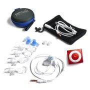Underwater Audio Red Waterproof iPod Swimbuds Sport Bundle (URWT012)